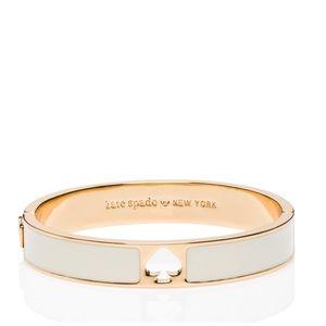 🆕 NWT Kate Spade Cream Enamel Hinge Bracelet
